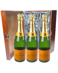 Veuve Clicquot Triple Luxury Gift
