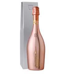 Botegga Rose Gold Prosecco Gift Box