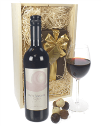 Sangiovese Wine And Chocolates Gift