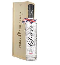 Chase Vodka Christmas Gift In Wooden Box