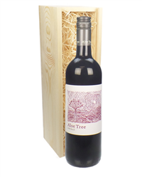 South African Shiraz Red Wine Gift in Wooden Box