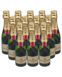 Moet Chandon Champagne Mini Quarter Case