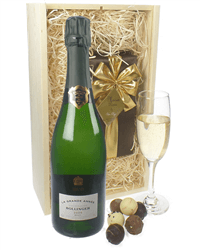 Bollinger Vintage Champagne & Belgian Chocolates Gift Box