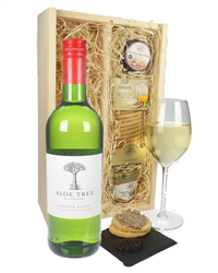 South African Chenin Blanc White Wine And Gourmet Food Gift Box