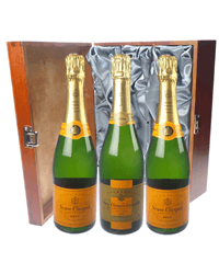Veuve NV and Vintage Triple Luxury Gift