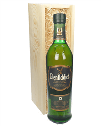 Glenfiddich 12 Year Old Highland Single Malt Scotch Whisky Gift