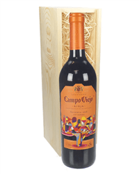 Campo Viejo Reserva Wine Gift in Wooden Box