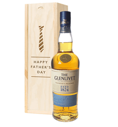 Glenlivet Founders Reserve Single Malt Whisky Fathers Day Gift In Wooden Box