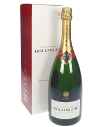 Bollinger Champagne Magnum 150cl Gift Box