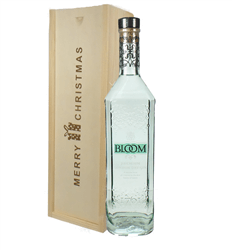 Bloom Gin Christmas Gift In Wooden Box