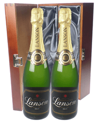 Lanson Black Label Twin Luxury Gift