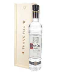 Ketel One Vodka Thank You Gift In Wooden Box