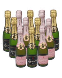 Lanson Mixed Champagne Mini Quarter Case