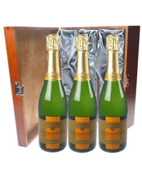 Veuve Vintage Triple Luxury Gift