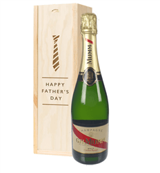 Mumm Cordon Rouge Champagne Fathers Day Gift In Wooden Box