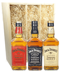 Jack Daniels Whiskey Triple Gift Set