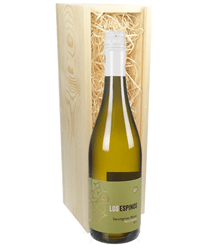 Sauvignon Blanc Chilean White Wine Gift in Wooden Box