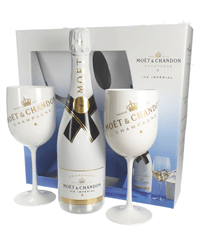 Moet and Chandon Ice Imperial Champagne Flute Gift Set
