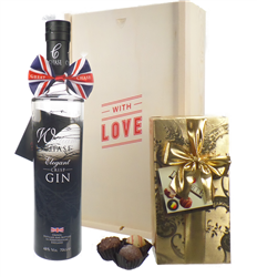 Chase Gin And Chocolates Valentines Gift