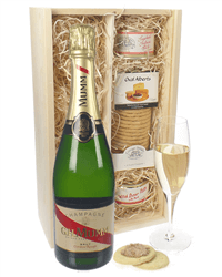 Champagne and Gourmet Food Gifts