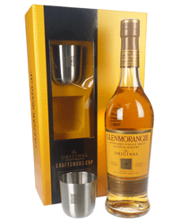 Glenmorangie Original Single Malt Scotch Whisky Craftsmans Cup Gift Set