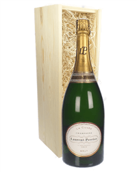 Laurent Perrier Champagne Magnum 150cl in Wooden Gift Box