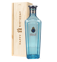 Star Of Bombay Gin Birthday Gift In Wooden Box