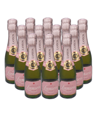 Lanson Rose Champange Mini Quarter Case