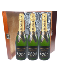 Moet Vintage Triple Luxury Gift