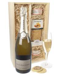 Louis Roederer Champagne & Gourmet Food Gift Box