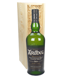 Ardbeg 10 Year Old Islay Single Malt Scotch Whisky Gift