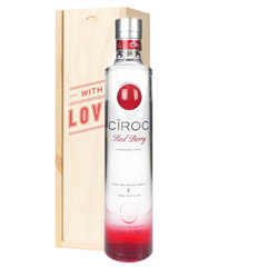 Ciroc Red Berry Vodka Valentines Day Gift