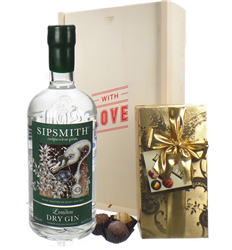 Sipsmith Gin And Chocolates Valentines Gift
