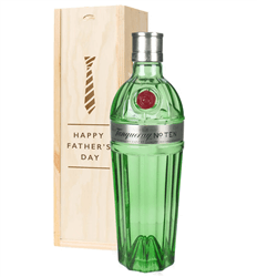 Tanqueray Ten Gin Fathers Day Gift In Wooden Box