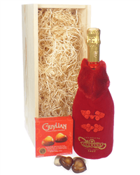 From Russia With Love Champagne Valentines Gift