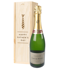Laurent Perrier Champagne Fathers Day Gift In Wooden Box