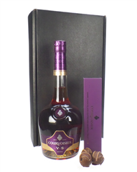Courvoisier VS Cognac And Cognac Chocolate Gift