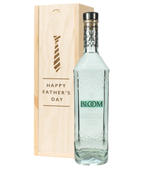 Bloom Gin Fathers Day Gift In Wooden Box