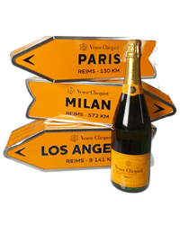 Veuve Clicquot Arrow Sign Gift