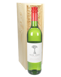 South African Chenin Blanc White Wine Gift in Wooden Box
