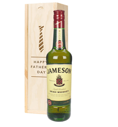 Jameson Irish Whiskey Fathers Day Gift In Wooden Box