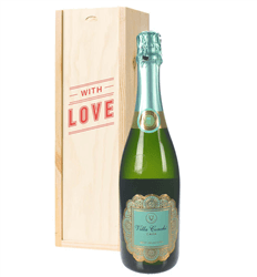 Cava Valentines With Love Special Gift Box