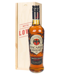 Bacardi Oakheart Rum Valentines Day Gift