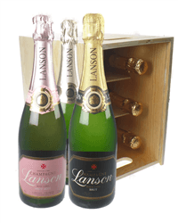 Six Bottle Champagne Crates