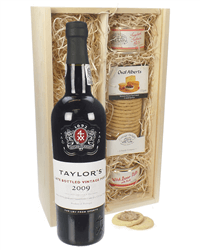Taylors Late Bottled Vintage Port and Pate