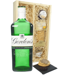 Gordons Gin and Pate