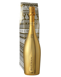 Christmas Gold Prosecco Gift