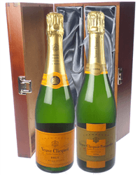 Veuve NV and Vintage Twin Luxury Gift