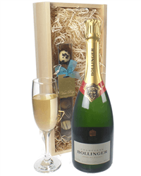 Bollinger Champagne and Chocolates Gift Set