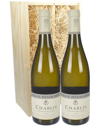 Chablis Twin Wine Gift